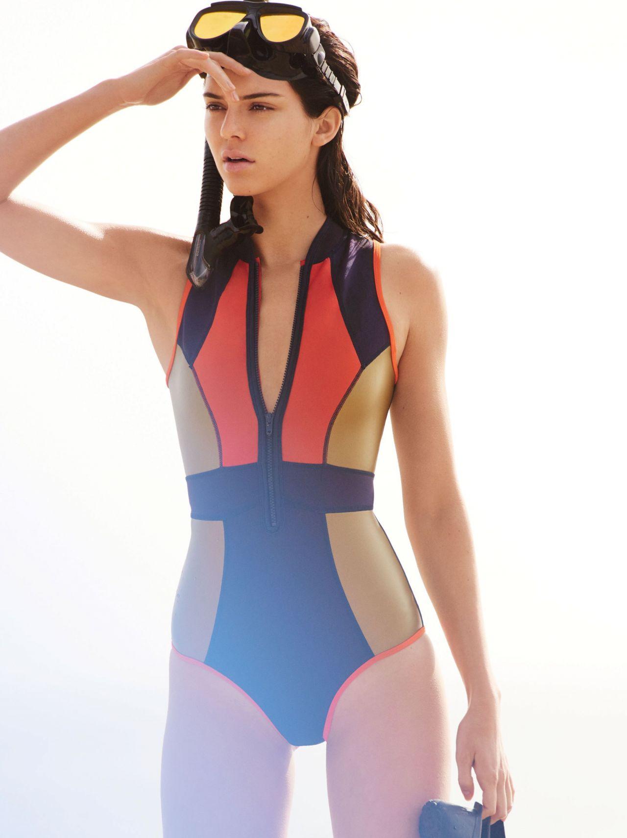Kendall Jenner Photo Shoot For Vogue Magazine April 2016