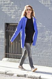Keri Russell Street Style - Out in Brooklyn 3/16/2016