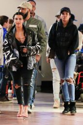 Kim Kardashian and Kanye West - Movie Date Night in Woodland Hills 3/12/2016
