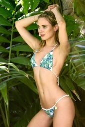 Kimberley Garner Bikini photoshoot in Anguilla, March 2016