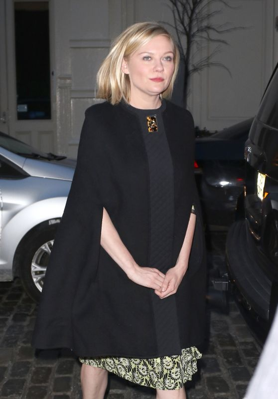 Kirsten Dunst - Arrive to the Soho in New York City 3/7/2016