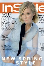 Kirsten Dunst - InStyle Magazine UK May 2016 Cover and Photos