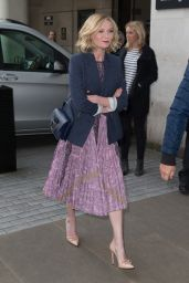 Kirsten Dunst - Radio 1 Studios in London, UK 3/31/2016