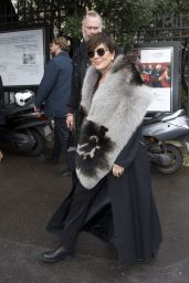 Kris Jenner at Miu Miu Fashion Show in Paris 3/9/2016