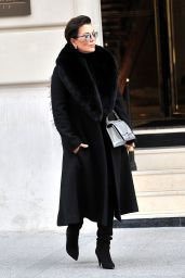 Kris Jenner on Her Way to the Dior Fashion Show in Paris 3/4/2016