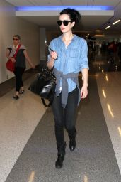 Krysten Ritter at LAX Airport in Los Angeles 3/18/2016