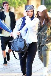 Kylie Jenner in Tights - Out in  Camarillo 3/12/2016