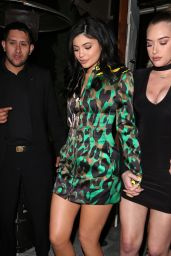 Kylie Jenner Night Out Style - Nice Guy in West Hollywood 3/18/2016