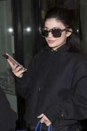 Kylie Jenner Street Style - Leaving a Photoshoot in Los Angeles, March 2016