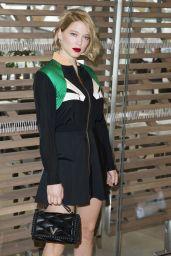 Léa Seydoux - Louis Vuitton Fashion Show in Paris 03/09/2016