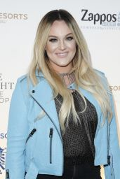Lacey Schwimmer - One Night for ONE DROP Blue Carpet in Las Vegas 3/18/2016