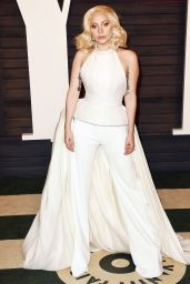 Lady Gaga – 2016 Vanity Fair Oscar Party in Beverly Hills, CA
