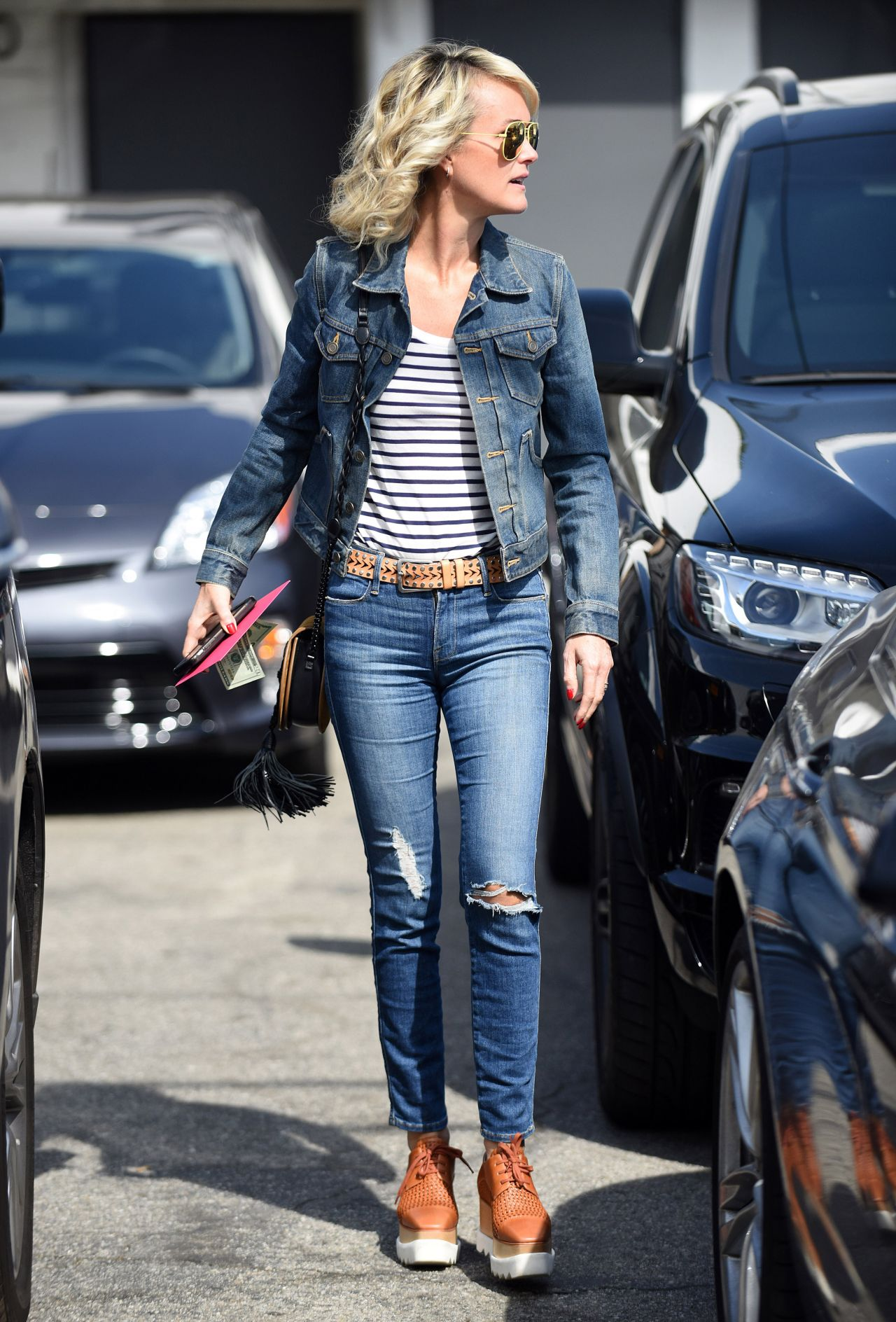 Laeticia Hallyday Looking Trendy Out In Beverly Hills