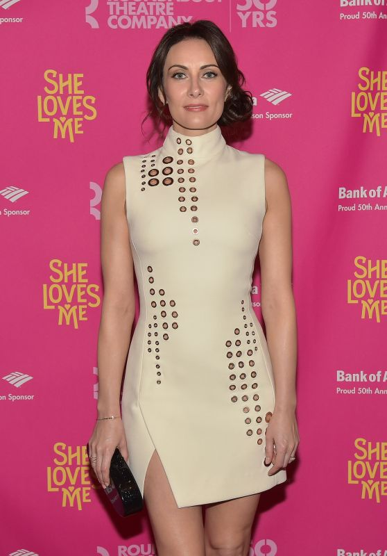 "Laura Benanti - ""She Loves Me"" Broadway Opening Night at Studio 54 in New York City"
