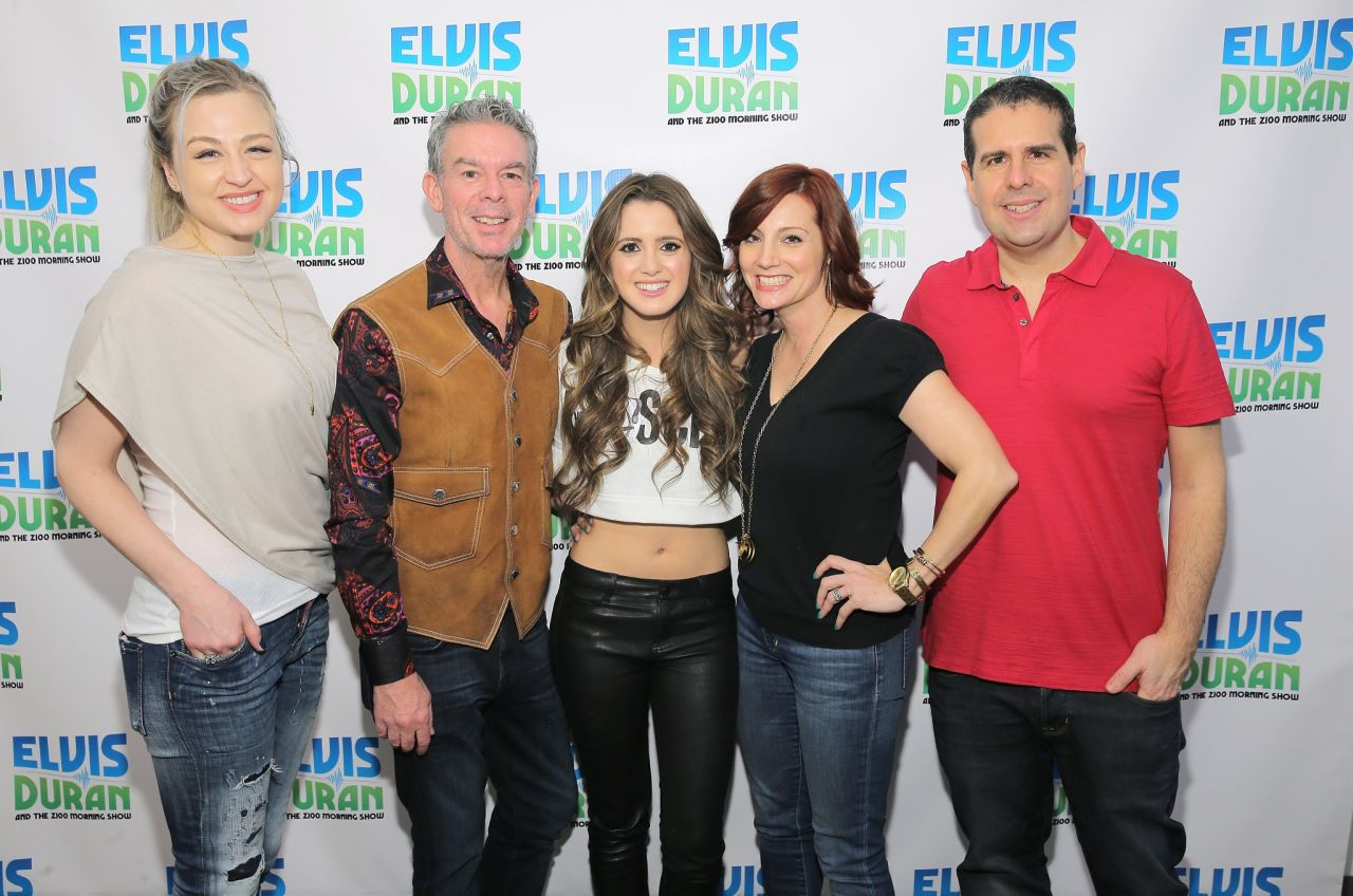 Laura Marano - The Elvis Duran Z100 Morning Show in New ...