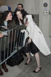 Laura Prepon - Outside a Talk Show in New York City 3/2/2016