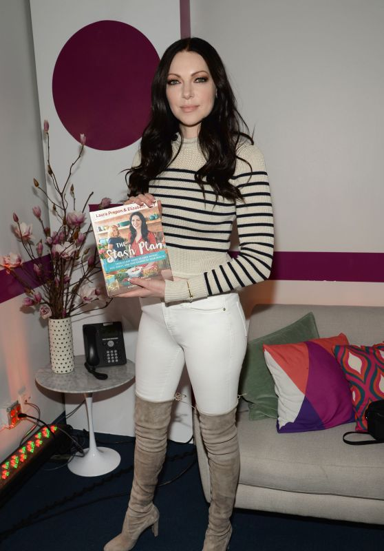 Laura Prepon - Promoting Her Book - Backstage at New York Live in New York City 3/1/2016