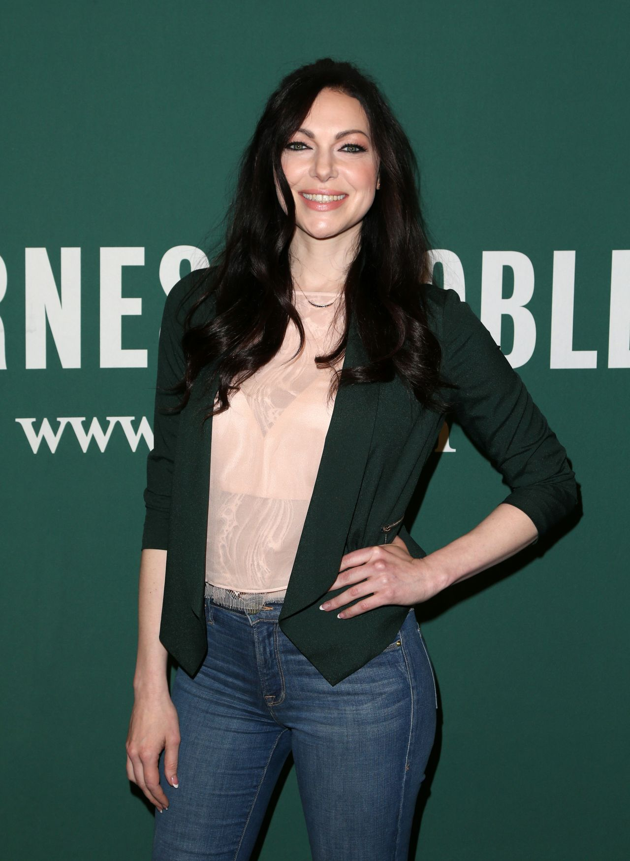 Laura Prepon Signing Of Her New Book At The Barnes