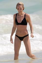 Laura Vandervoort in a Bikini at a Beach in Mexico 3/28/2016