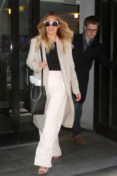 Lauren Conrad at Good Day New York 3/29/2016
