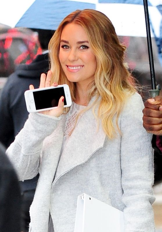 Lauren Conrad at Good Morning America in New York City 3/28/2016