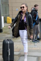 Lauren Platt - Arriving at the BBC Studio