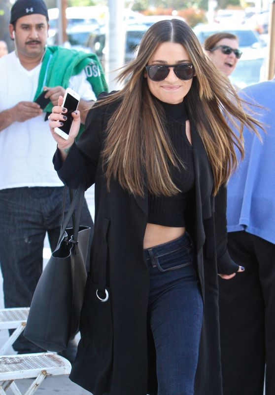 Lea Michele Style - Out in Los Angeles 3/23/2016