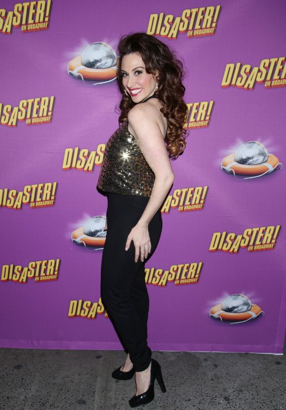 Lesli Margherita – 'Disaster!' Musical Opening Night on Broadway in New York City 3/8/2016