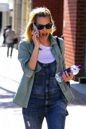 Leslie Bibb - Out in Beverly Hills 3/16/2016