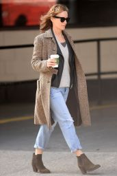 Leslie Mann Casual Style - Out in NYC 3/22/2016