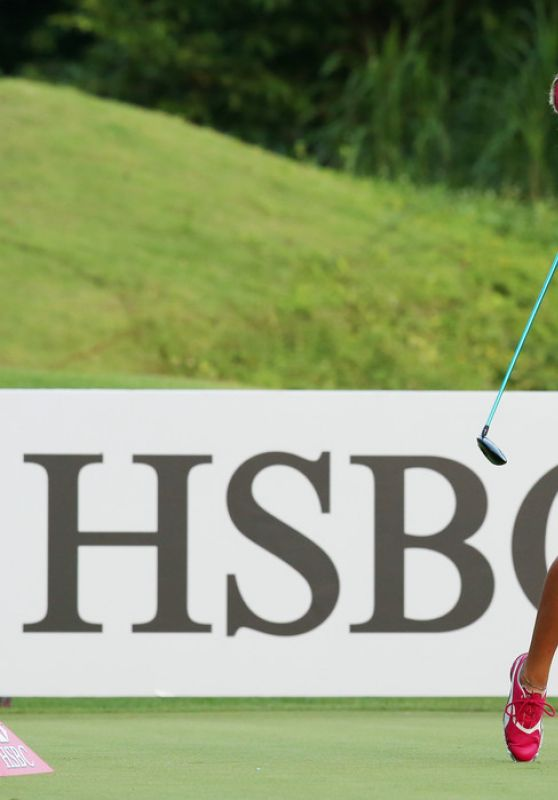 Lexi Thompson – Pro-Am Event Prior to the HSBC Women's Champions in Singapore 3/2/2016