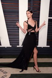 Lily Aldridge – 2016 Vanity Fair Oscar Party in Beverly Hills, CA