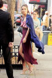 Lily Aldridge Looking Stylish - New York City, 3/8/2016