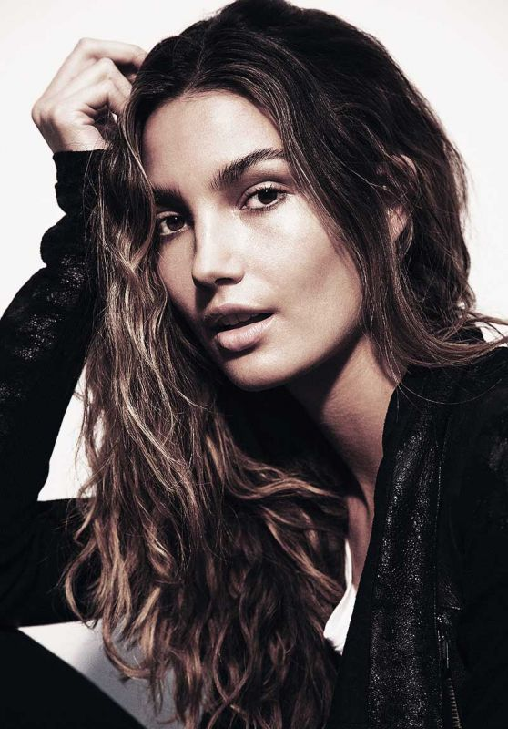 Lily Aldridge - Photoshoot for Corduroy Magazine 2016