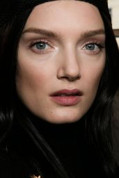 Lily Donaldson – Balmain Show – Paris Fashion Week, March 2016