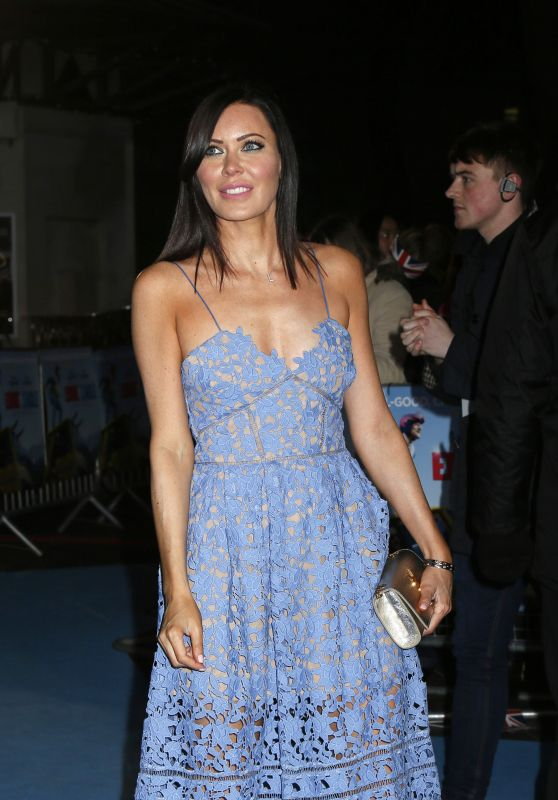 Linzi Stoppard – 'Eddie The Eagle' Premiere in London, UK