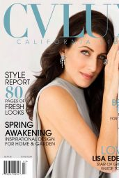 Lisa Edelstein - CV Lux Magazine March April 2016 Issue