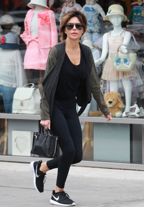Lisa Rinna - Out in Beverly Hills 3/5/2016