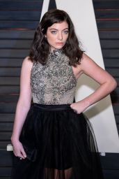 Lorde – 2016 Vanity Fair Oscar Party in Beverly Hills, CA