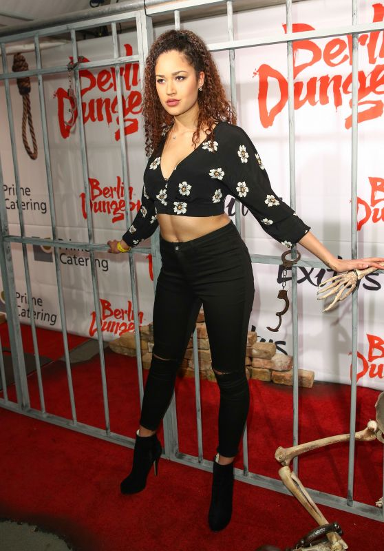 Lovelyn Enebechi – The EXITUS at Berlin Dungeon Premiere Red Carpet Arrivals 3/16/2016
