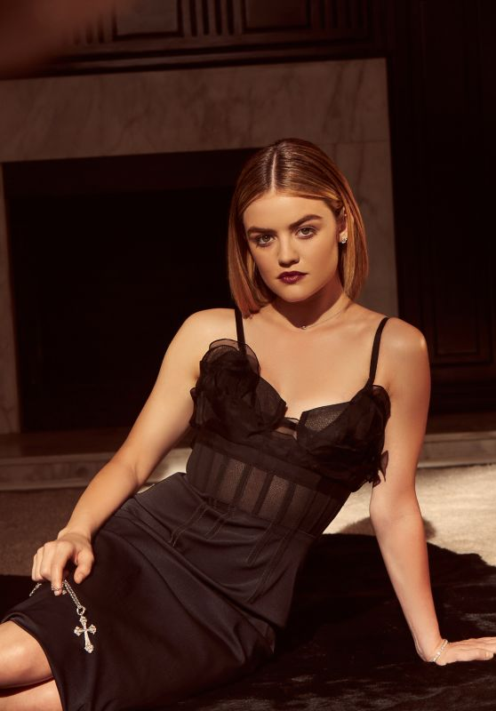 Lucy Hale - Elle Magazine USA March 2016