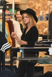 Lucy Hale - Shopping at Barnes and Noble and Urban Outfitters in Studio City 3/13/2016