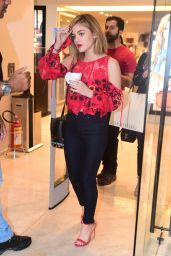 Lucy Hale Style - Shopping in Sao Paulo, Brazil 3/4/2016