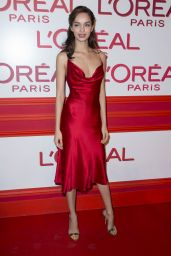 Luma Grothe – L'Oreal Red Obsession Party – Paris Fashion Week 3/8/2016