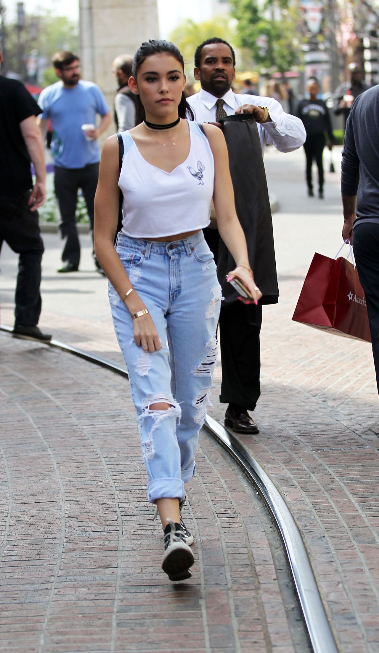 Madison Beer Street Style Out In Hollywood 3 20 2016