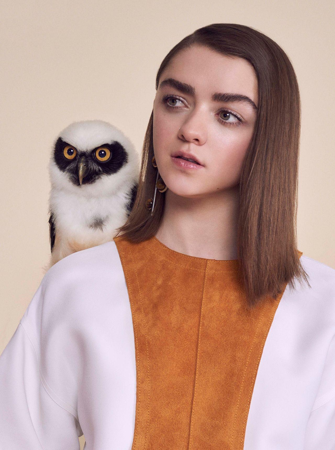 maisie williams photoshoot for instyle magazine uk april