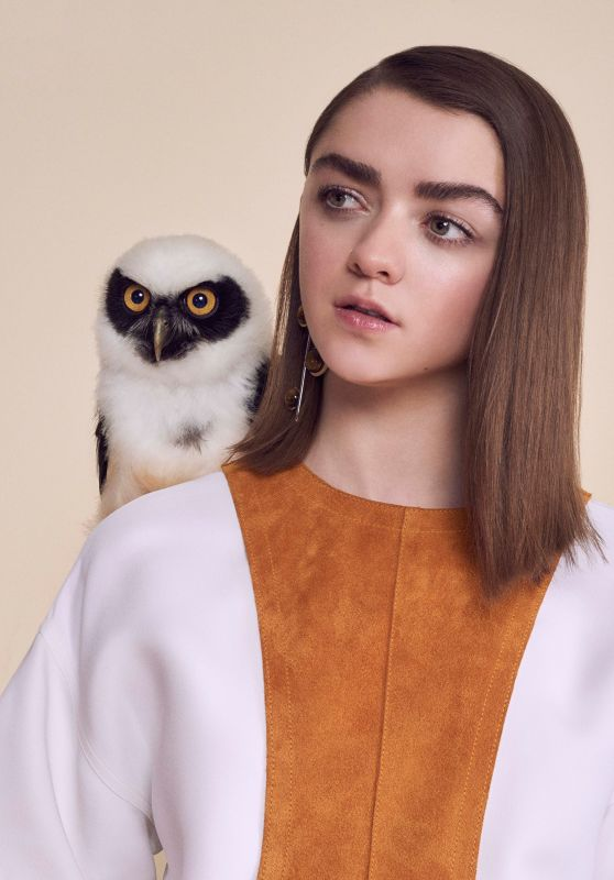 Maisie Williams - Photoshoot for Instyle Magazine UK April 2016