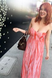 Maitland Ward - Leaving Brighton Salon in Beverly Hills, March 2016