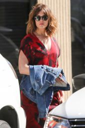 Mandy Moore Casual Style - Out in Los Angeles 3/23/2016