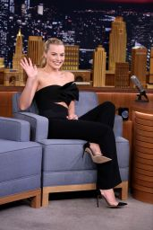 Margot Robbie - Tonight Show With Jimmy Fallon in New York City, 3/1/2016